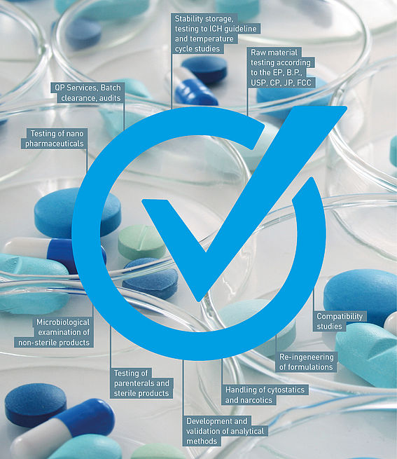 Pharmaceutical Analysis at WESSLING: Complete solutions for pharmaceutical manufacturers and pharmaceutical companies