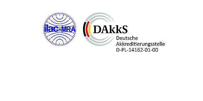 logo ilac MRA and DAkks