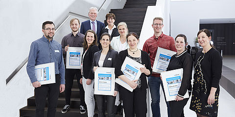 Gruppenfoto Innovation Award 2018