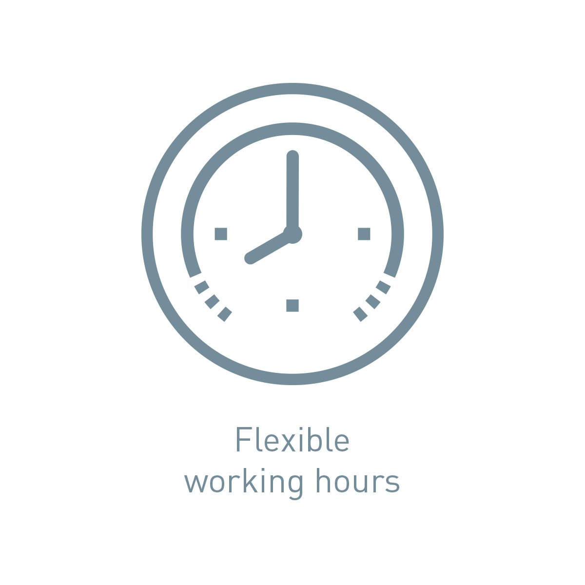 Icon flexible working hours